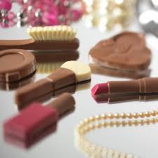 chocolate make up set by choc on choc notonthehighstreet com