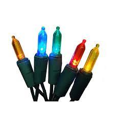 Multi Function Christmas Lights Set Of 60 Multi Color Mini Led 16 Function Christmas Lights