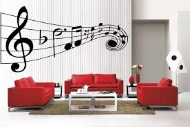 Music Note Home Decor Newclew Music Musical Notes Large Removable Vinyl Wall Quote Decal