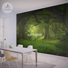 magical forest self adhesive peel stick nature wall mural magical forest self adhesive peel stick nature wall mural wall mural