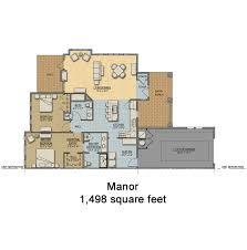 cottage homes floor plans new cottage homes in the st s retirement community