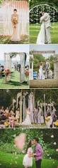 creative ideas to decorate your outdoor wedding ceremony with for