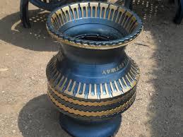 como hacer macetas con llantas recicladas paso a paso como se hacen jarrones reciclados para macetas paso a paso llantas