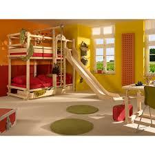 chambre enfant toboggan monterey lit superposé avec toboggan woodland mobiliers