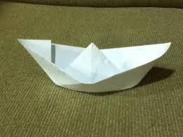 How To Make Boat From Paper - how to make a paper boat origami simple easy