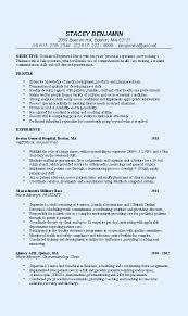 medical sales representative resume sample