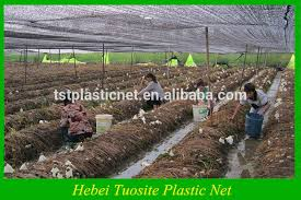 greenhouse knitted sun shade netting cloth for vegetable to