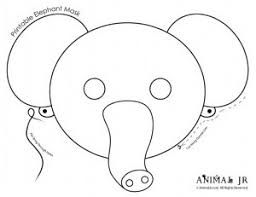 elephant mask clipart clipartxtras