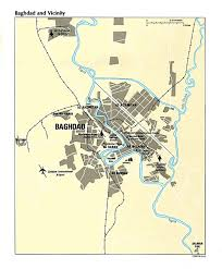 map of bagdad iraq maps perry castañeda map collection ut library