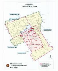 Chester Pa Map Malvern Fire Company Chester County Pa