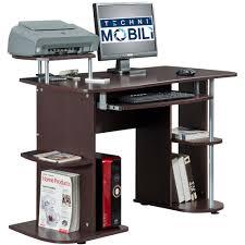 Desk With Printer Storage Furniture Cozy Techni Mobili Desk For Your Office Furniture Ideas