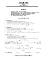 student resume template resume 7 college resume template for high school students high