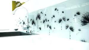 plaque en verre pour cuisine plaque de protection murale pour cuisine protection plaque de