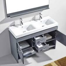 virtu usa zola 48 in single basin vanity in espresso with ceramic