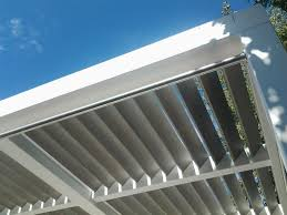 Shade For Pergola by Wall Mounted Pergola Wooden Sun Shade Louvers Sun Protection