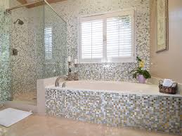 marvellous inspiration mosaic tile bathroom ideas charming glass