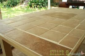 Tiled Patio Table Ideas Outdoor Tile Patio Or Outdoor Wooden Patio Tiles 81 Tile