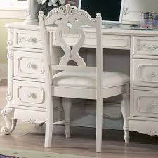 Desk Chair White by Homelegance Cinderella Writing Desk Chair In White Beyond Stores