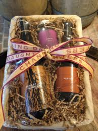 local wine gift baskets from channing daughters edible east end
