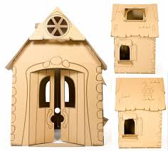 Cardboard House Cascades Cardboard Playhouse Where Will Your Imagination Take