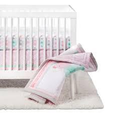 Cloud Crib Bedding Crib Bedding Set Elephant Parade 4pc Cloud Island Pink Target