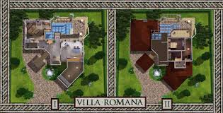 Italian Villa Floor Plans Mod The Sims Villa Romana