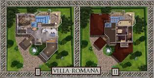 mod the sims villa romana