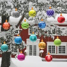 outdoor christmas reindeer decorations lighted brown wooden doors
