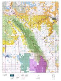 Elk Population Map Colorado Gmu 86 Map Mytopo