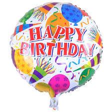 18 inch happy birthday foil balloons balloon