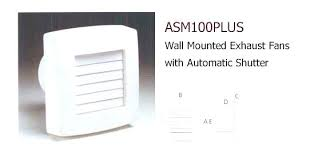 bathroom wall exhaust fan bathroom exhaust fan wall hybriddog info
