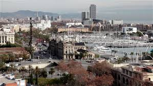 barcelona city view barcelona city view stock footage video 4784978 shutterstock