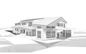 blueprints for homes awesome modern house sketch designing a house in sloping hill area