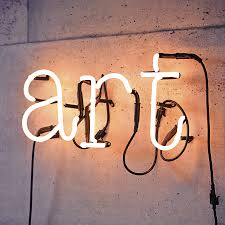 neon letter light by letteroom notonthehighstreet com