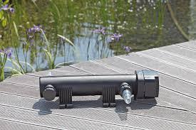 le uv pour etang filtre uv bassin vitronic 36 watts oase expert bassin