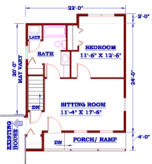 mother in law house plans plan number ad 2224 a accessible in