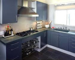 Kitchen Cupboard Paint Ideas Modern Concept Blue Grey Painted Kitchen Cabinets Accent Tiles For