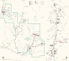 National Park Map Usa by Zion National Park Usa Map Map Travel Holiday Vacations