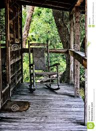Wicker Rocking Chairs For Porch Old Rocking Chair On Porch Of House Stock Photo Image 68947028