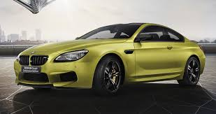 kereta bmw x6 bmw m6 coupe celebration edition revealed 600 hp