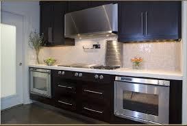 contemporary kitchen backsplash ovens contemporary kitchen