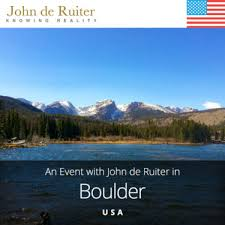 John de Ruiter   Knowing Reality  Canadian Philosopher Open Mic Meetings with John de Ruiter in Boulder  Colorado USA May