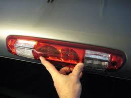 silverado third brake light cover silverado third brake light bulbs replacement guide 016