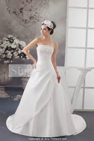 white strapless wedding dress dress ty