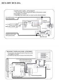 0 100v 10a voltmeter u0026 ammeter