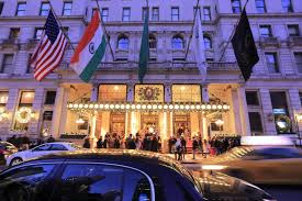the new york hotel in home alone 2 is selling a package that lets