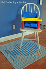 high chair floor mat home chair decoration