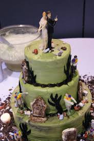 Halloween Themed Wedding Cakes Best 25 Zombie Wedding Cakes Ideas On Pinterest Halloween