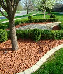 Decorative Rock Landscaping Red Brick Chips Indianapolis Decorative Rock Mccarty Mulch