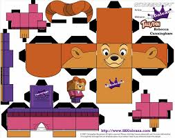halloween paper craft ukblocku papercraft template by gxter on how to make paper wheel